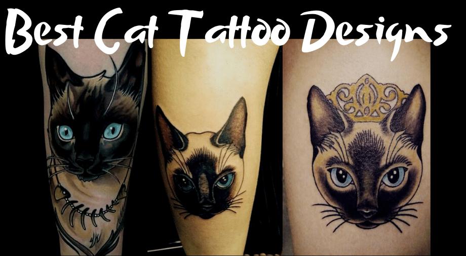 Best Cat Tattoo Designs