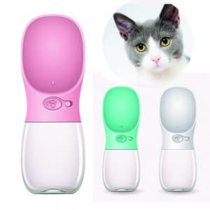 Portable Cat water bottle