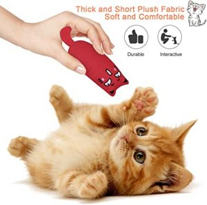 Bojafa Cat Catnip Toys for Cat Playing Chewing Teeth Cleaning