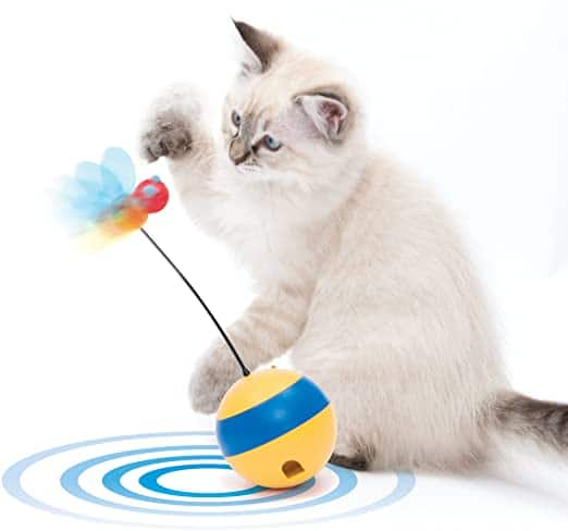 Catit Spinning Bee Interactive Cat Toy