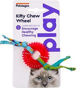 Petstages Dental Kitty Chew Wheel Cat Chew Toy