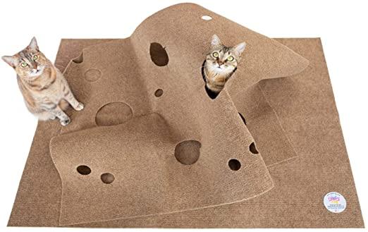 SnugglyCat Ripple Rug Cat Activity Play Mat