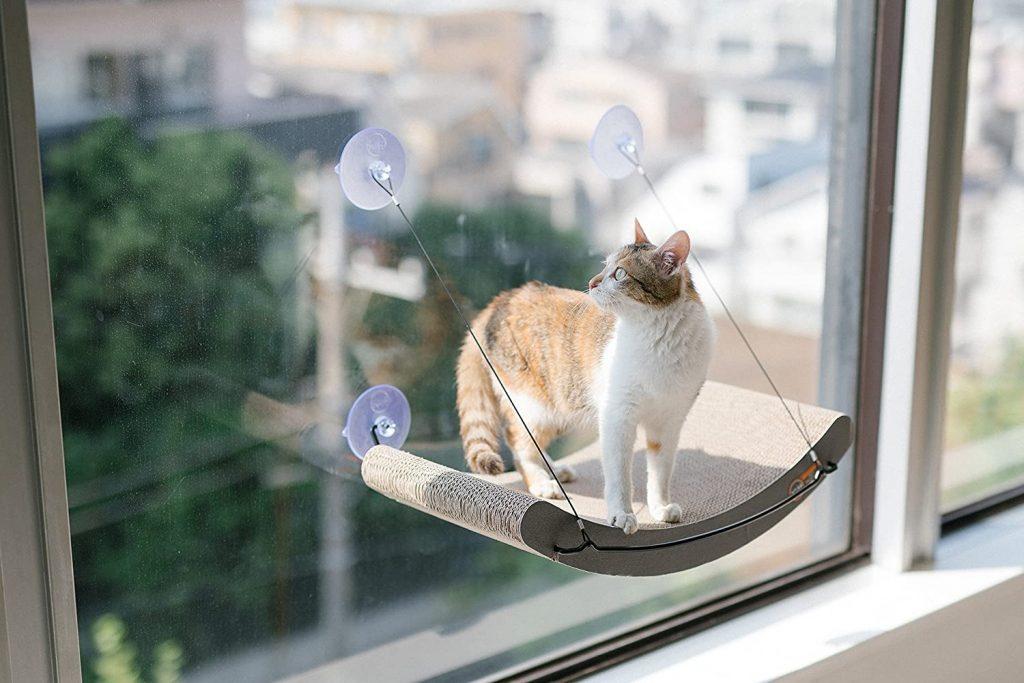 K&H Pet Products EZ Mount Cat Scratcher Kitty Sill Cradle